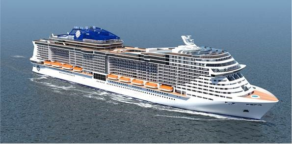 MSC Newbuild STX France 1