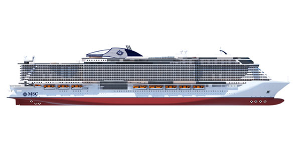 MSC Two New Ship Classes Seaside and Vista