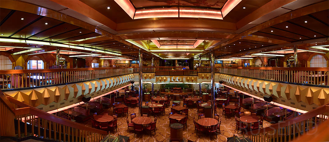The Golden Dining Room Carnival Glory